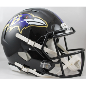 Baltimore Ravens Riddell Speed Authentic Full Size Football Helmet