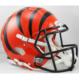 Cincinnati Bengals Riddell Speed Authentic Full Size Football Helmet