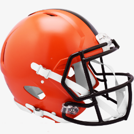 Cleveland Browns Riddell Speed Authentic Full Size Football Helmet
