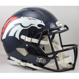 Denver Broncos Riddell Speed Authentic Full Size Football Helmet