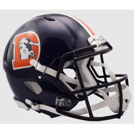 Denver Broncos Color Rush 2016 Riddell Speed Authentic Full Size Football Helmet