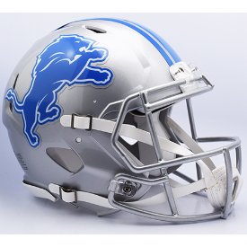 Detroit Lions Riddell Speed Authentic Full Size Football Helmet