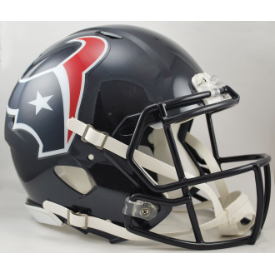 Houston Texans Riddell Speed Authentic Full Size Football Helmet