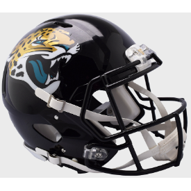 Jacksonville Jaguars Riddell Speed Authentic Full Size Football Helmet