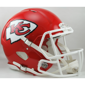 Kansas City Chiefs Riddell Speed Authentic Full Size Football Helmet