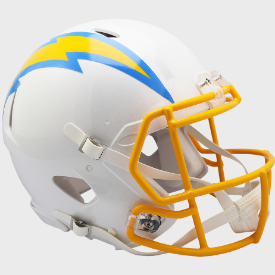 Los Angeles Chargers Riddell Speed Authentic Full Size Football Helmet