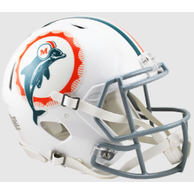 Miami Dolphins 66 Anniversary Riddell Speed Authentic Full Size Football Helmet