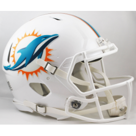Miami Dolphins Riddell Speed Authentic Full Size Football Helmet