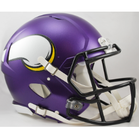 Minnesota Vikings Riddell Speed Authentic Full Size Football Helmet