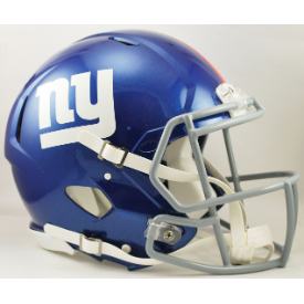 New York Giants Riddell Speed Authentic Full Size Football Helmet