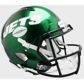 New York Jets Riddell Speed Authentic Full Size Football Helmet