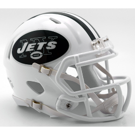 New York Jets Color Rush 2016 Riddell Speed Authentic Full Size Football Helmet