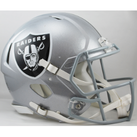 Oakland Raiders Riddell Speed Authentic Full Size Football Helmet