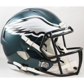 Philadelphia Eagles Riddell Speed Authentic Full Size Football Helmet