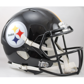 Pittsburgh Steelers Riddell Speed Authentic Full Size Football Helmet