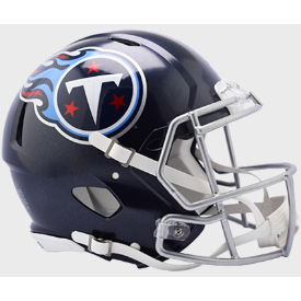 Tennessee Titans Riddell Speed Authentic Full Size Football Helmet