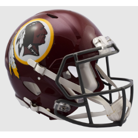 Washington Redskins Tribute 2016 Riddell Speed Authentic Full Size Football Helmet
