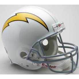 San Diego Chargers Riddell VSR-4 Throwback 61-73 Authentic Full Size Football Helmet