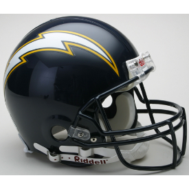 San Diego Chargers Riddell VSR-4 Throwback 88-06 Authentic Full Size Football Helmet
