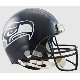 Seattle Seahawks Riddell VSR-4 Authentic Full Size Football Helmet