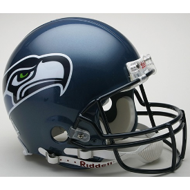 Seattle Seahawks Riddell VSR-4 Throwback 02-11 Authentic Full Size Football Helmet