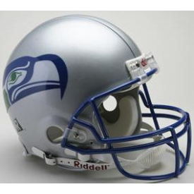 Seattle Seahawks Riddell VSR-4 Throwback 83-01 Authentic Full Size Football Helmet