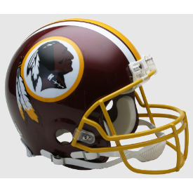 Washington Redskins Riddell VSR-4 Authentic Full Size Football Helmet