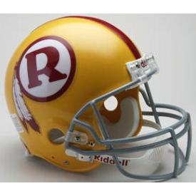 Washington Redskins Riddell VSR-4 Throwback 70-71 Authentic Full Size Football Helmet