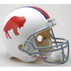 Buffalo Bills Riddell VSR-4 Throwback 65-73 Replica Full Size Football Helmet