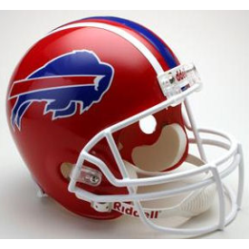 Buffalo Bills Riddell VSR-4 Throwback 87-01 Replica Full Size Football Helmet
