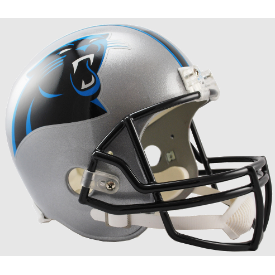 Carolina Panthers Riddell VSR-4 Replica Full Size Football Helmet