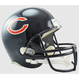 Chicago Bears Riddell VSR-4 Replica Full Size Football Helmet