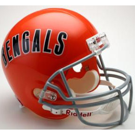 Cincinnati Bengals Riddell VSR-4 Throwback 68-79 Replica Full Size Football Helmet