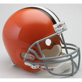 Cleveland Browns Riddell VSR-4 Throwback 62-74 Replica Full Size Football Helmet