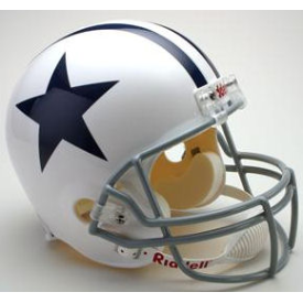 Dallas Cowboys Riddell VSR-4 Throwback 60-63 Replica Full size Football Helmet