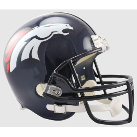 Denver Broncos Riddell VSR-4 Replica Full Size Football Helmet