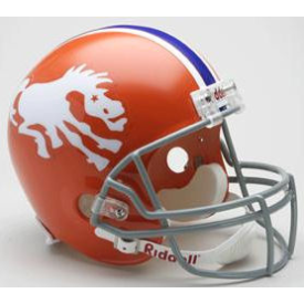 Denver Broncos Riddell VSR-4 Throwback 66 Replica Full Size Football Helmet
