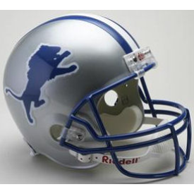 Detroit Lions Riddell VSR-4 Throwback 83-02 Replica Full Size Football Helmet