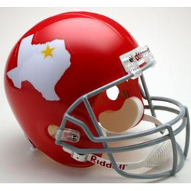 Dallas Texans Riddell VSR-4 Throwback 60-62 Replica Full Size Football Helmet