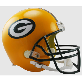 Green Bay Packers Riddell VSR-4 Replica Full Size Football Helmet