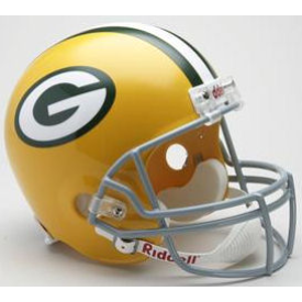 Green Bay Packers Riddell VSR-4 Throwback 61-79 Replica Full Size Football Helmet