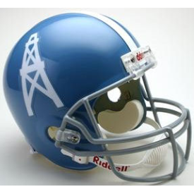 Houston Oilers Riddell VSR-4 Throwback 60-62 Replica Full Size Football Helmet