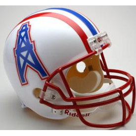 Houston Oilers Riddell VSR-4 Throwback 81-96 Replica Full Size Football Helmet