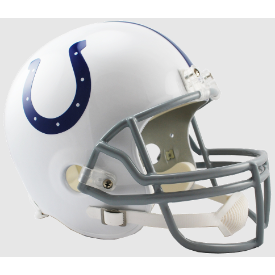 Indianapolis Colts Riddell VSR-4 Replica Full Size Football Helmet