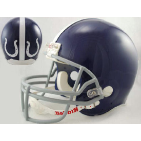Indianapolis Colts Riddell VSR-4 Throwback 1955 Replica Full Size Football Helmet