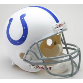 Indianapolis Colts Riddell VSR-4 Throwback 59-77 Replica Full Size Football Helmet