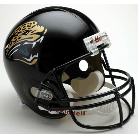 Jacksonville Jaguars Riddell VSR-4 Throwback 95-12 Replica Full Size Football Helmet