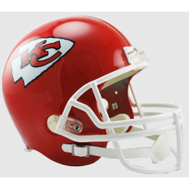 Kansas City Chiefs Riddell VSR-4 Replica Full Size Football Helmet