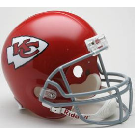 Kansas City Chiefs Riddell VSR-4 Throwback 63-73 Replica Full Size Football Helmet