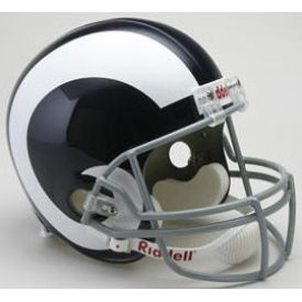 Los Angeles Rams Riddell VSR-4 Throwback 65-72 Replica Full Size Football Helmet